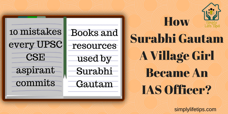 Surabhi Gautam A Village Girl Became An IAS Officer