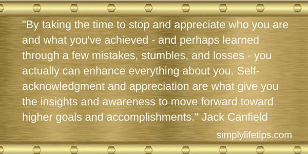 Jack Canfield Quote Appreciate