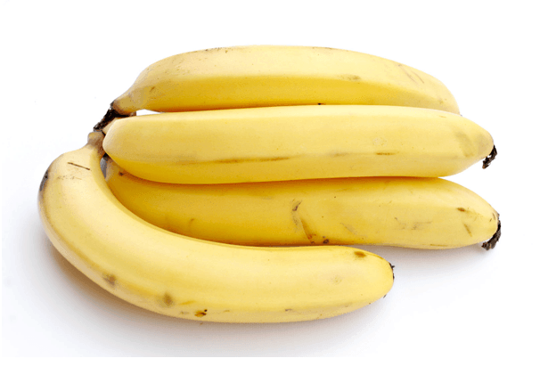 Increase Weight With Bananas - 4 Nos. Yellow Colour Big Bananas