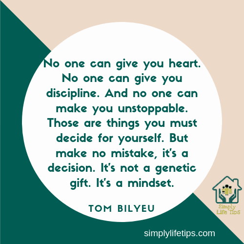 Tom Bilyeu Mindset Quote