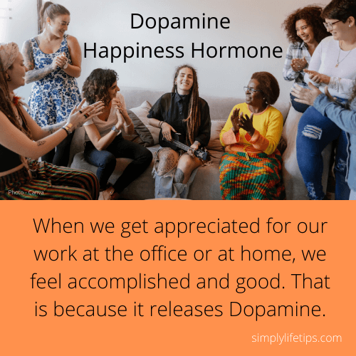 appreciation Dopamine Happiness Hormone