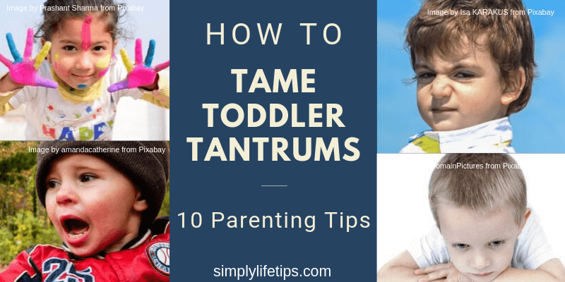 Tame Toddler Tantrums