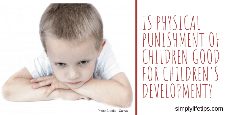 Physical Punishment Of Children