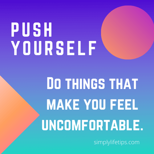 Push Yourself - Success Habits