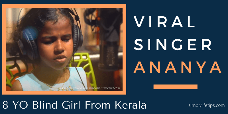 Viral Singer Ananya Blind Girl From Kerala